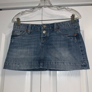 American Eagle Jean Skirt size 4